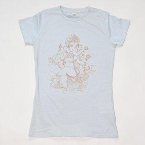 Women T-Shirt GANESHA hellgrau - MR. NELSON ecowear