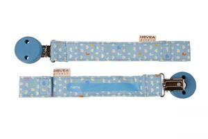 Hevea Schnullerhalter in blau - Hevea