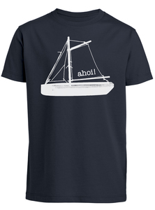 Kinder T-Shirt 'Ahoi' Biobaumwolle & Fair Wear  - ilovemixtapes