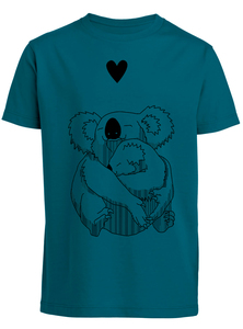 Kinder T-Shirt 'Koala Liebe' Biobaumwolle & Fair Wear  - ilovemixtapes