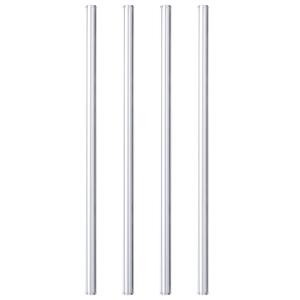 HALM Glasstrohhalme 4x 23 cm (gerade) - HALM