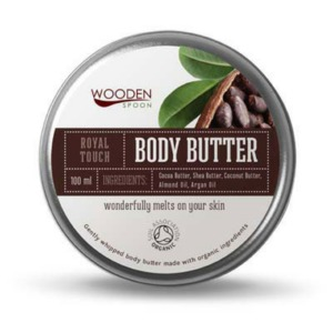 Body Butter 'Royal Touch' - Wooden Spoon