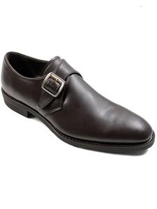 Wills BLACK Collection Monks Dark Brown - Wills Vegan Shoes