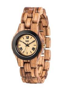 Holz-Armbanduhr CRISS MB ZEBRANO   100% hautverträglich - Wewood