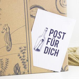 Postkarte Post für Dich - Bow & Hummingbird