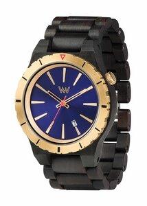 Holz-Armbanduhr ASSUNT MB BLUE GOLD | 100% hautverträglich - Wewood