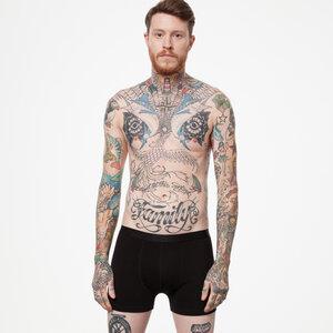 ThokkThokk TT15 Boxershort Black GOTS & Fairtrade - THOKKTHOKK