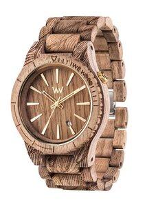 Holz-Armbanduhr ASSUNT WAVES NUT ROUGH   100% hautverträglich - Wewood