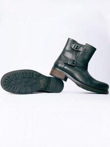 Men's Biker Boots Black - Wills Vegan Shoes