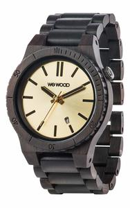 Holz-Armbanduhr ARROW BLACK GOLD   100% hautverträglich - Wewood