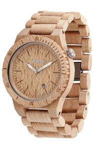 Holz-Armbanduhr BETA BEIGE  100% hautverträglich - Wewood