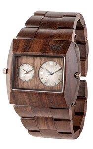 Holz-Armbanduhr JUPITER RS CHOCOLATE   100% hautverträglich - Wewood