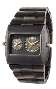 Holz-Armbanduhr JUPITER RS BLACK | 100% hautverträglich - Wewood