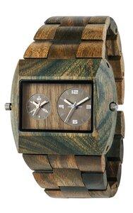 Holz-Armbanduhr JUPITER RS ARMY | 100% hautverträglich - Wewood