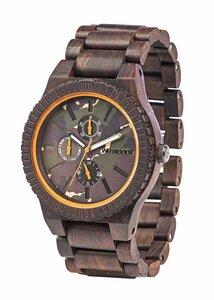 Holz-Armbanduhr KOS CHOCO CAMO | 100% hautverträglich - Wewood