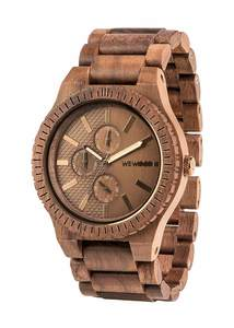 Holz-Armbanduhr KOS NUT BRONZE | 100% hautverträglich - Wewood