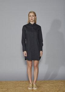 NORMA Blouse Dress - Black - Frieda Sand