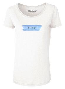 "Damen T-Shirt aus Modal ""Adore Modal Think"" - Human Family"