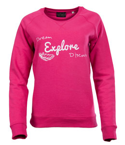 "Damen Sweatshirt ""Everyday Explore""  - Human Family"