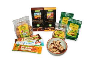 BIO Knabber und Snackset mit exotischen Früchten, Nüsse und Schokolade - Rapunzel BIO