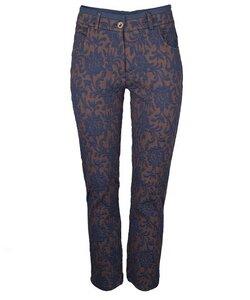 Jacquard Pants marine - Alma & Lovis