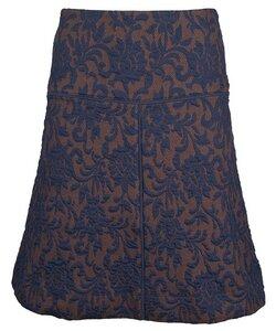 Jacquard Skirt marine - Alma & Lovis