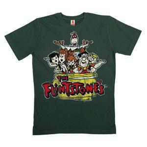 LOGOSHIRT - Flintstones - Road Trip - T-Shirt - 100% Organic Cotton - LOGOSH!RT
