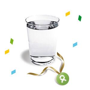 Trinkwasser für 50 Menschen (Glückwunschkarte) - OxfamUnverpackt