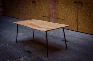Esstisch aus Roteichenholz - Hardman Design & Build