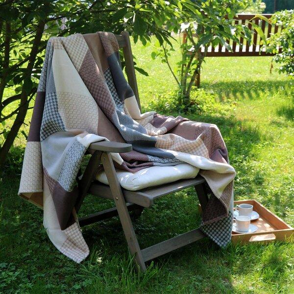 naturehome kuscheldecke tagesdecke jacquard 100. Black Bedroom Furniture Sets. Home Design Ideas