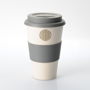 Flower of Life Kaffeebecher in Weiß (freakulized) - freakulized