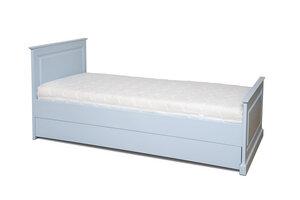 Design Bett ADRIA - massive Buche inkl. Matratze und Bettkasten *EINZELSTÜCK* - bosnanova