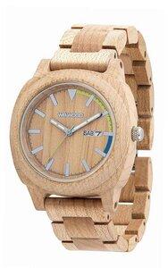 Holz-Armbanduhr MOTUS BEIGE | 100% hautverträglich - Wewood