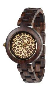 Holz-Armbanduhr PARDUS CHOCOLATE   100% hautverträglich - Wewood