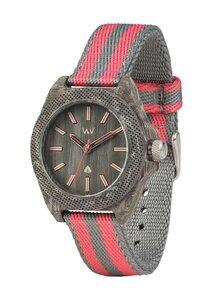 Holz-Armbanduhr PHOENIX 38 TEAK PINK | 100% hautverträglich - Wewood