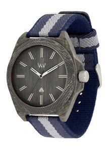 Holz-Armbanduhr PHOENIX 46 TEAK BLUE | 100% hautverträglich - Wewood