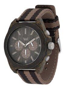 Holz-Armbanduhr PHOENIX CHRONO WENGE EARTH | 100% hautverträglich - Wewood