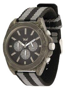 Holz-Armbanduhr PHOENIX CHRONO TEAK BLACK | 100% hautverträglich - Wewood