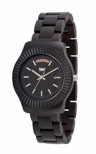 Holz-Armbanduhr THEMA BLACK   100% hautverträglich - Wewood