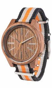 Holz-Armbanduhr TORPEDO NUT ORANGE | 100% hautverträglich - Wewood
