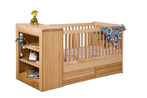 bosnanova design babybett wickelkommode kombi smart ii einzelst ck avocadostore. Black Bedroom Furniture Sets. Home Design Ideas
