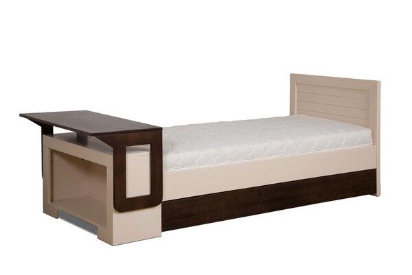 bosnanova - Design Bett-Schreibtisch Kombi SMART Buche massiv ...