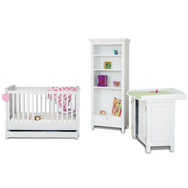 bosnanova design babybett adria ii massive buche inkl. Black Bedroom Furniture Sets. Home Design Ideas