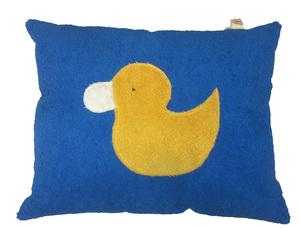 Efie Kissen blau, aus kontrolliert biologischer Baumwolle, 100 % Made in Germany seit über 60 Jahren - Efie