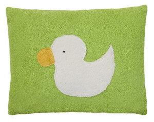 Efie Kissen grün, aus kontrolliert biologischer Baumwolle - Efie