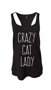 crazy cat lady Tank - WarglBlarg!