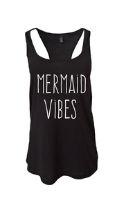 Mermaid vibes Tank - WarglBlarg!