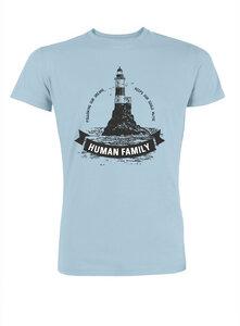 "Herren T-Shirt ""Captain Lighthouse"" aus 100% Bio Baumwolle  - Human Family"