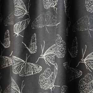"Bio-Stoff ""Butterfly Black"" 100% Biobaumwolle  - Biostoffe Berlin by Julie Cocon"