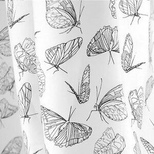 "Bio-Stoff ""Butterfly White"" 100% Biobaumwolle  - Biostoffe Berlin by Julie Cocon"